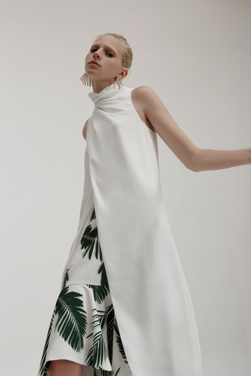 C/MEO COLLECTIVE Never Be Like You Dress + Enfold Skirt.