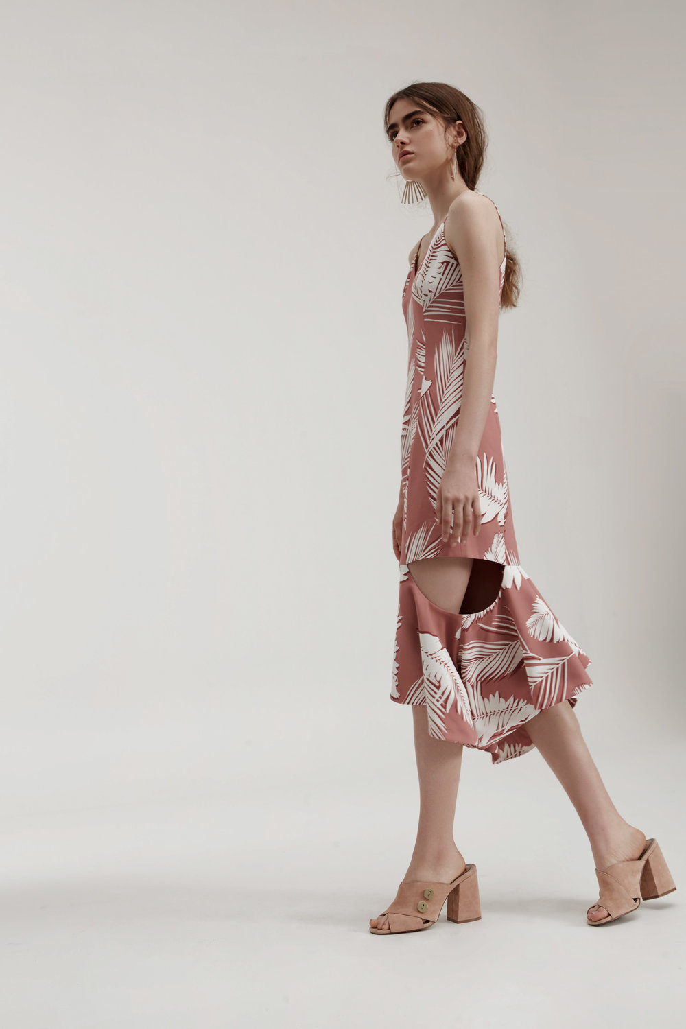 C/MEO COLLECTIVE Enfold Dress.