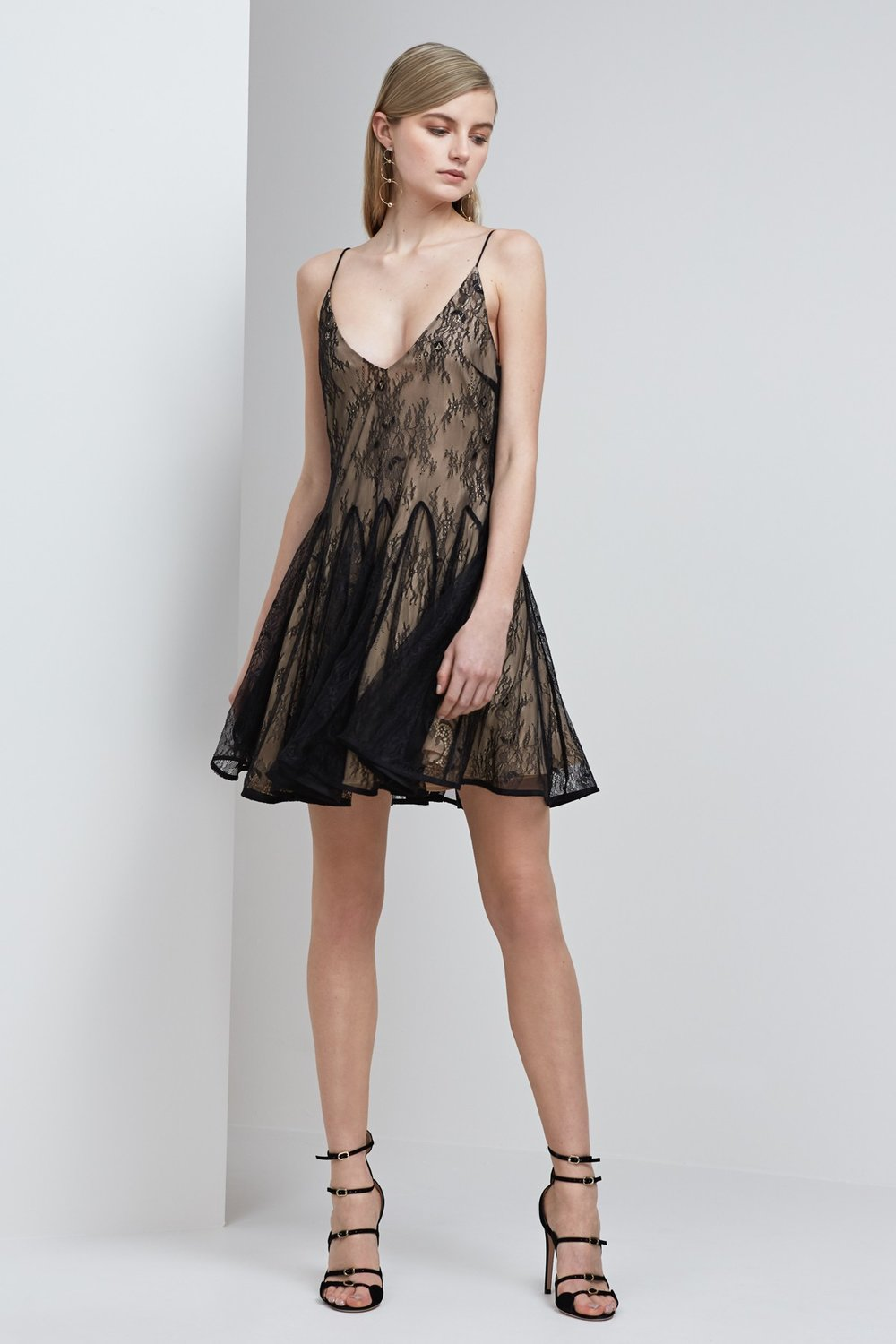 Shop Keepsake Above Water Lace Mini Dress.