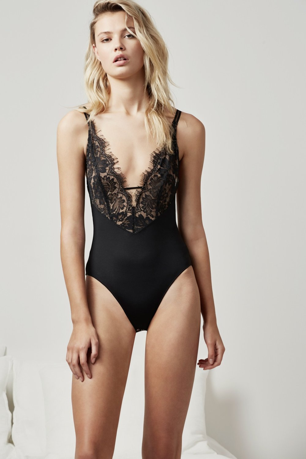 Keepsake Intimates  Begin Again Bodysuit .