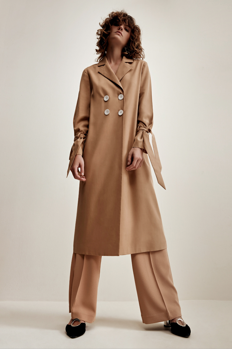 Shop C/MEO Unstoppable Trench  +  Flawless Pant.