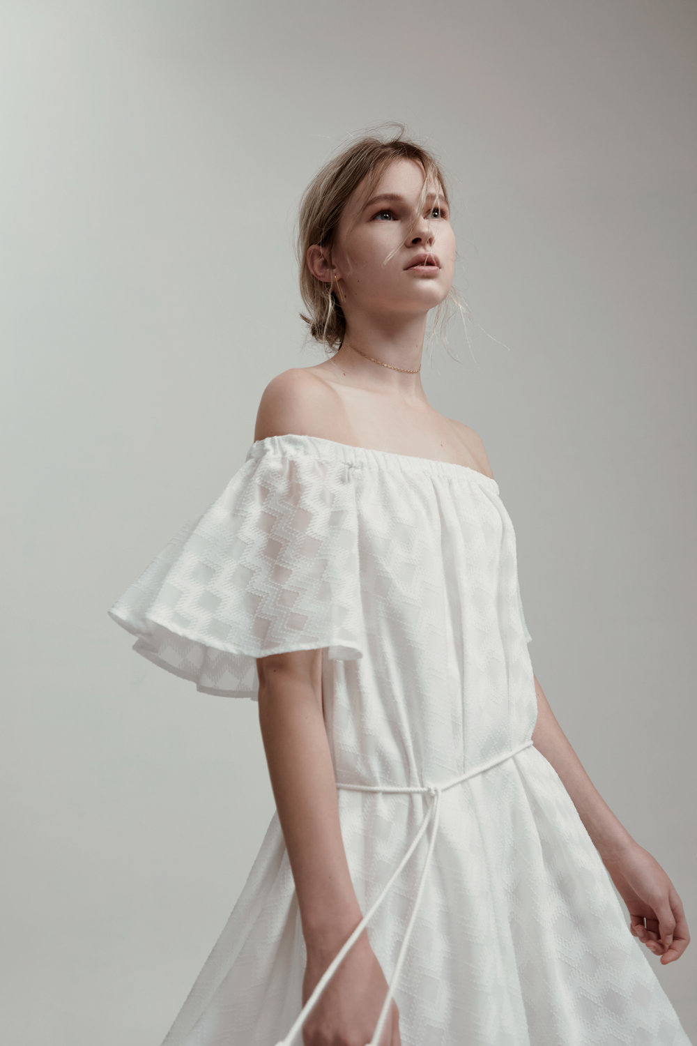 Shop Finders Ascot Ruffle Dress.