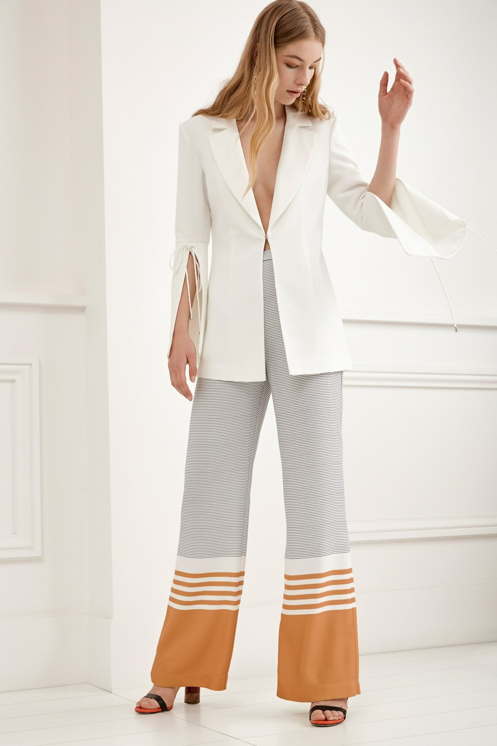 Shop C/MEO Eternity Blazer + Always Waiting Pants.