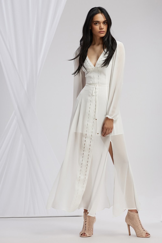 FINDERS Maison L/S Maxi Dress