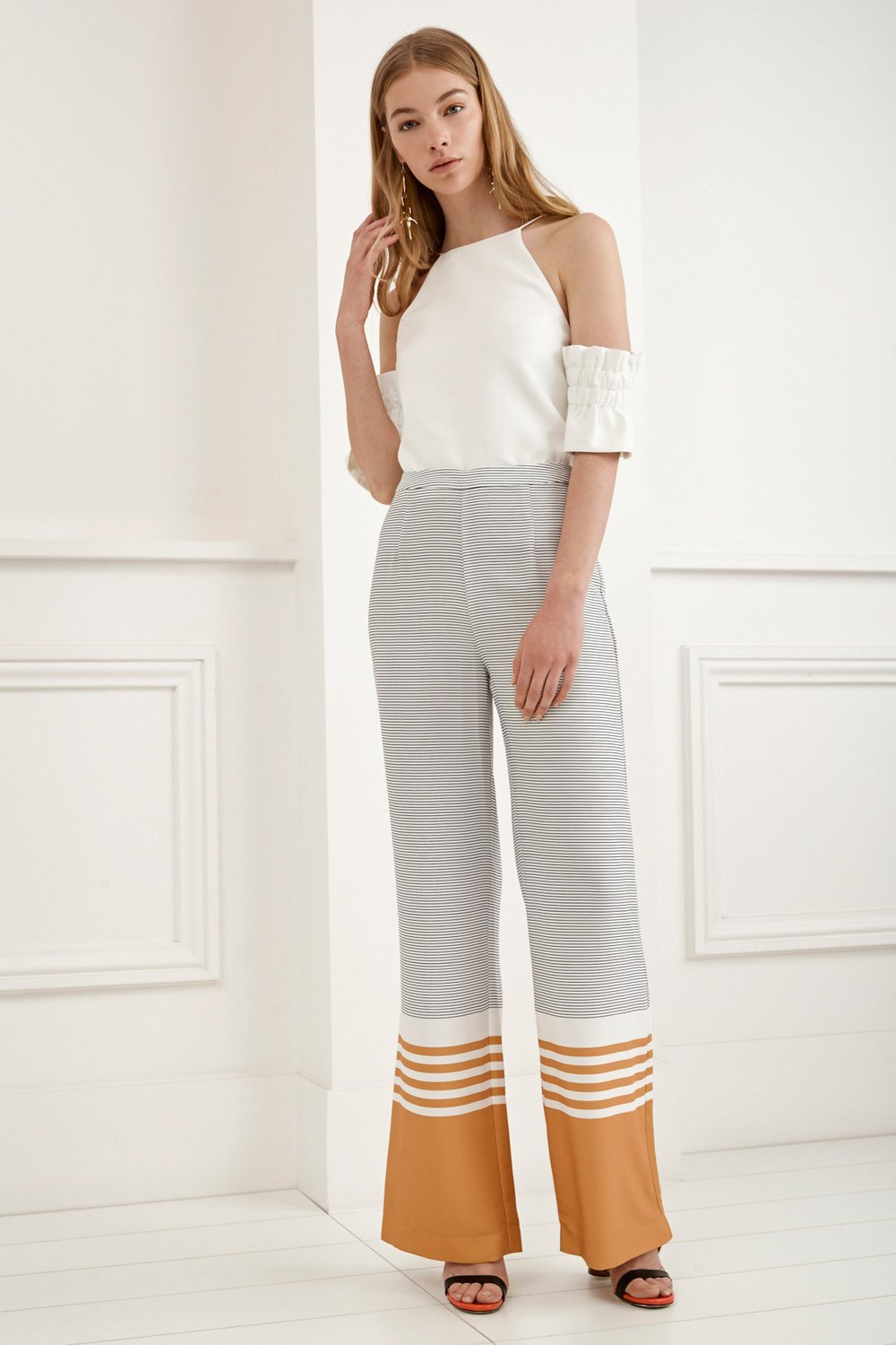 C/MEO COLLECTIVE Always Waiting Stripe Pant