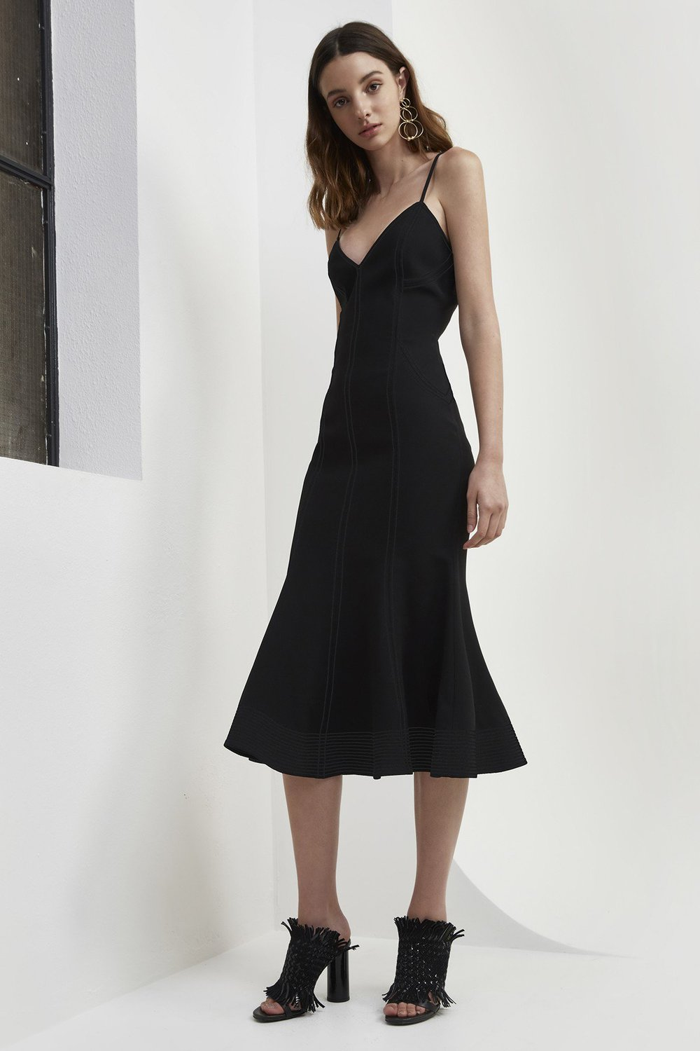 C/MEO COLLECTIVE Right Now Midi Dress