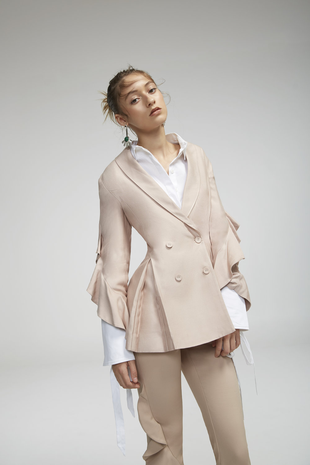 Shop  C/MEO Replay Blazer ,  Objection L/S Shirt  +  Replay Pant .