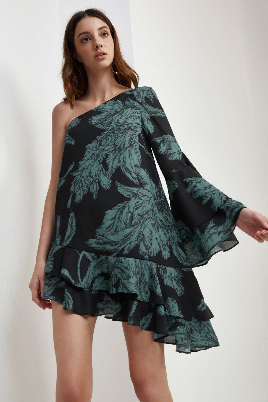 Shop C/MEO Enlighten Long Sleeve Dress.