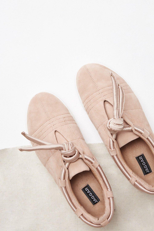 Shop JAGGAR Apparition Satin Sneaker.