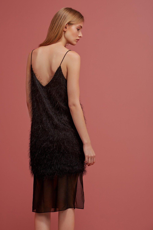 Shop Keepsake Silver Linings Dress.