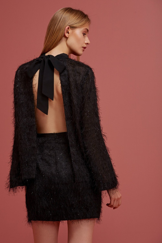 Shop  Keepsake Silver Linings L/S Top  +  Silver Linings Skirt .