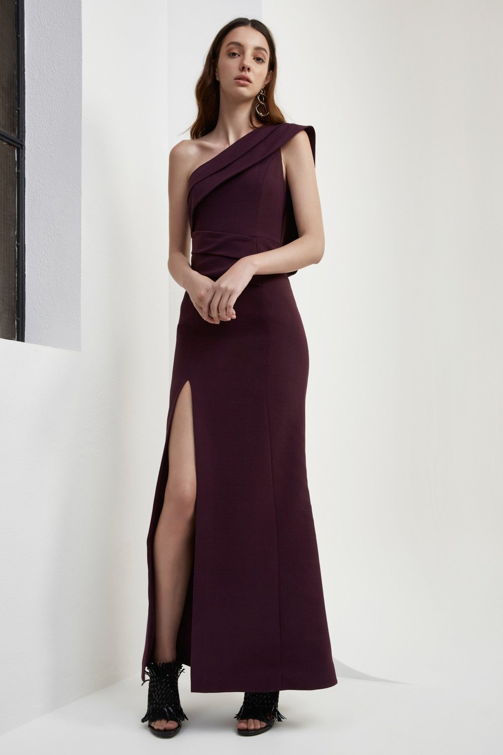Shop C/MEO Don't Stop Full Length Dress.