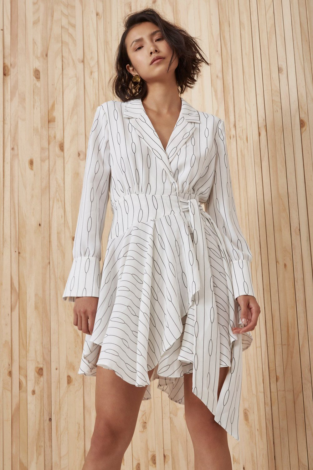Shop C/MEO Everlasting Long Sleeve Dress.