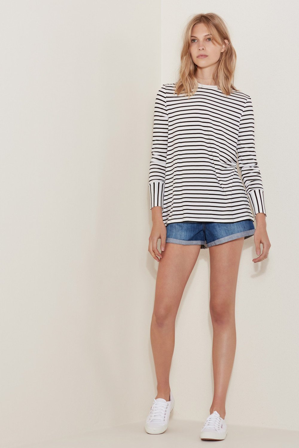 Shop  The Fifth Shine By Long Sleeve Top  +  High Roller Short .