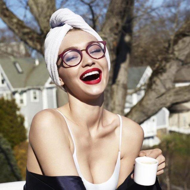 NB: won't actually make you Gigi Hadid. Via Vogue Eyewear.