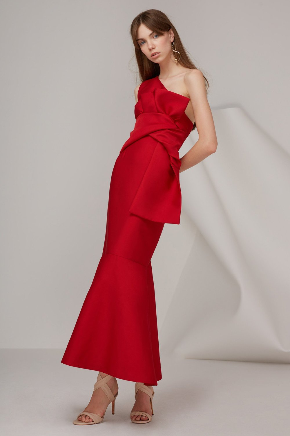 keepsake red gown
