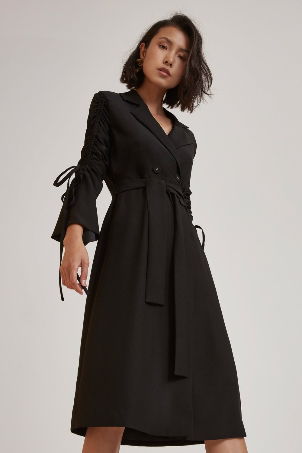 c/meo trench coat