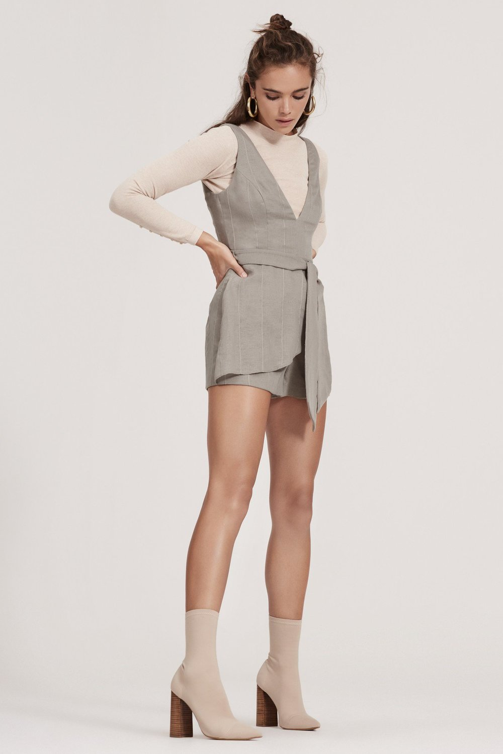 Shop  Finders 1992 Knit  +  Sanctuary Playsuit .