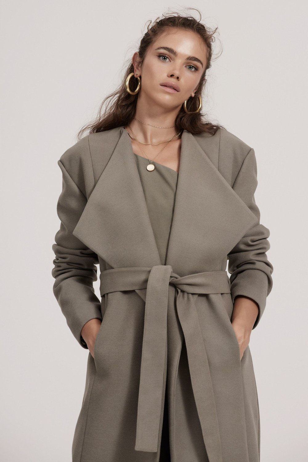 Shop Finders Pyramids Coat.