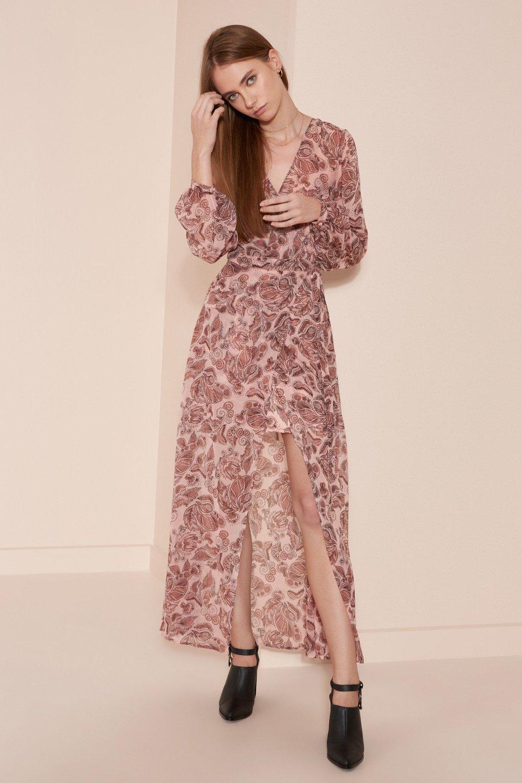 Shop The Fifth Siren Calls Wrap Dress.