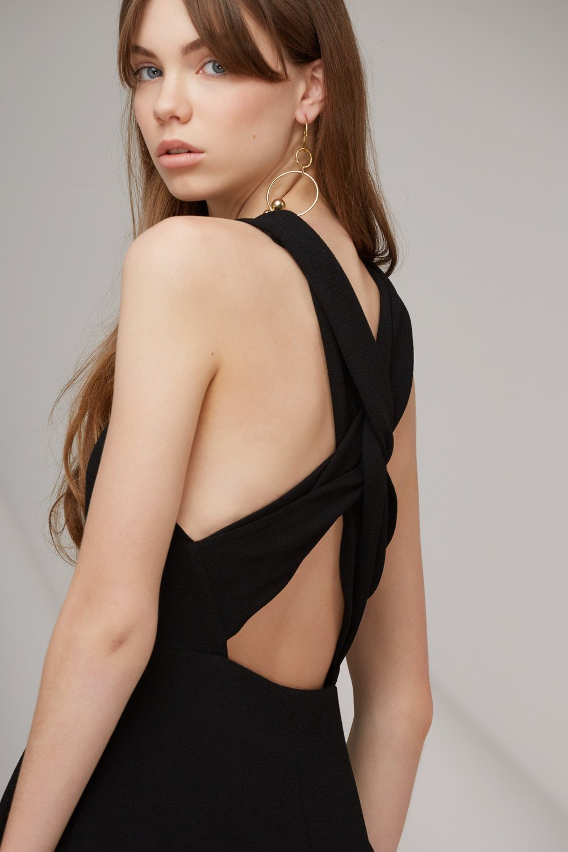 Shop Keepsake Darkest Light Midi Dress.