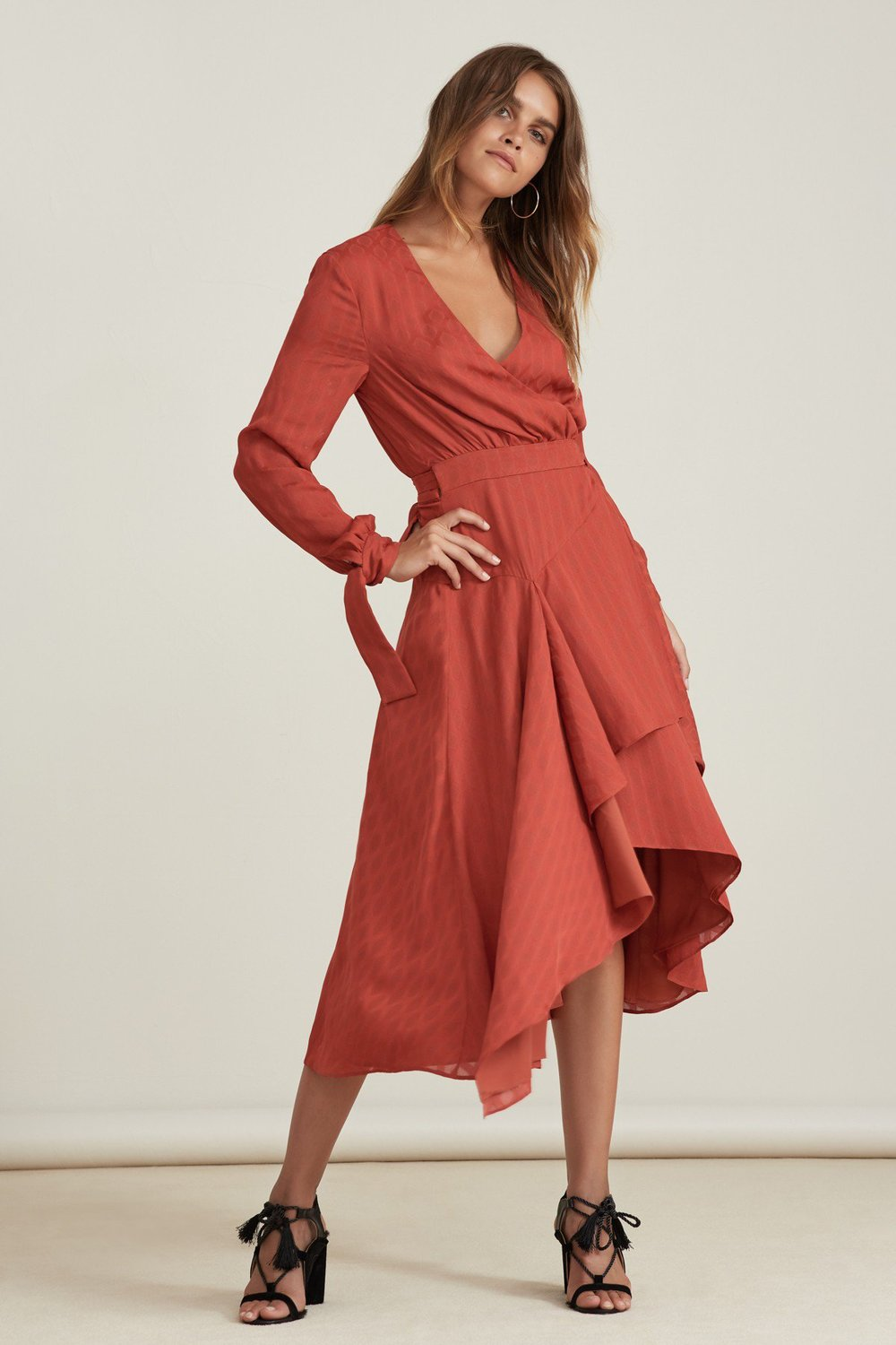 Shop Finders Keepers Foundations Midi Dress.