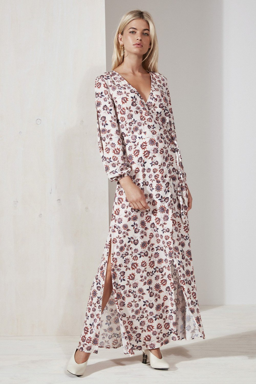 Shop The Fifth Carousel Wrap Dress.