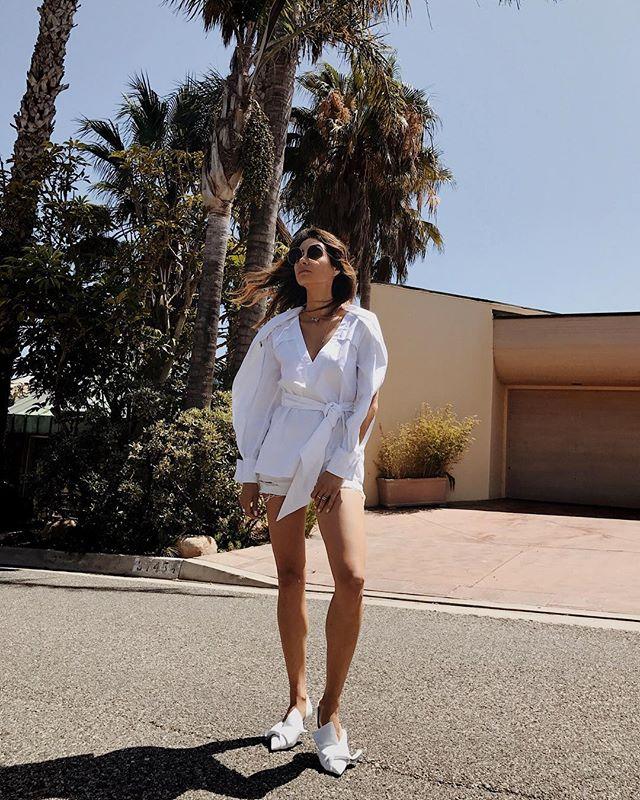 @dicarolina wears  C/MEO Solitary Shirt .