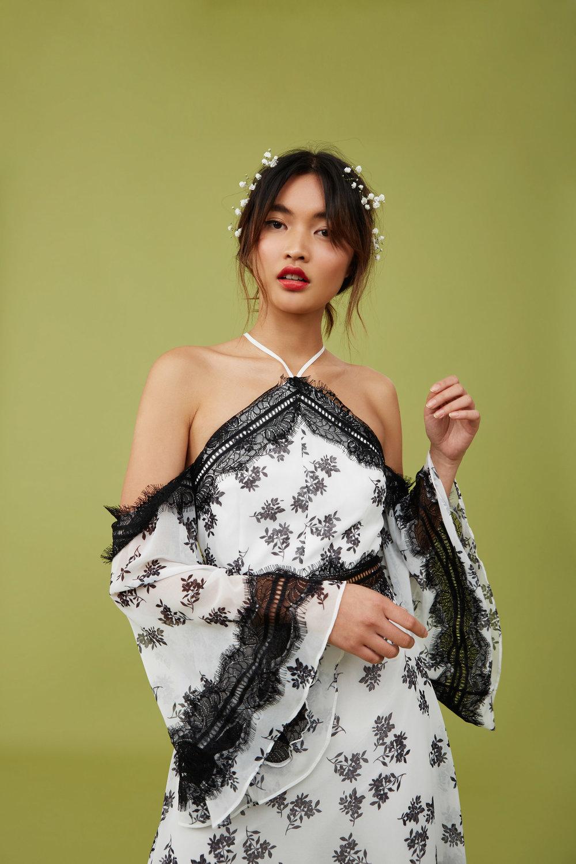 Shop Keepsake Moonlight Midi Dress.