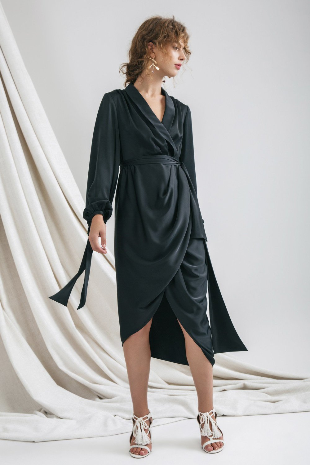 C/MEO Collective Influential L/S Dress