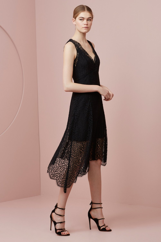 Keepsake Prelude Lace Dress