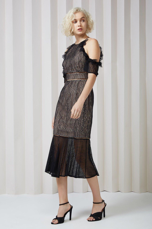 Keepsake Slide Lace Dress