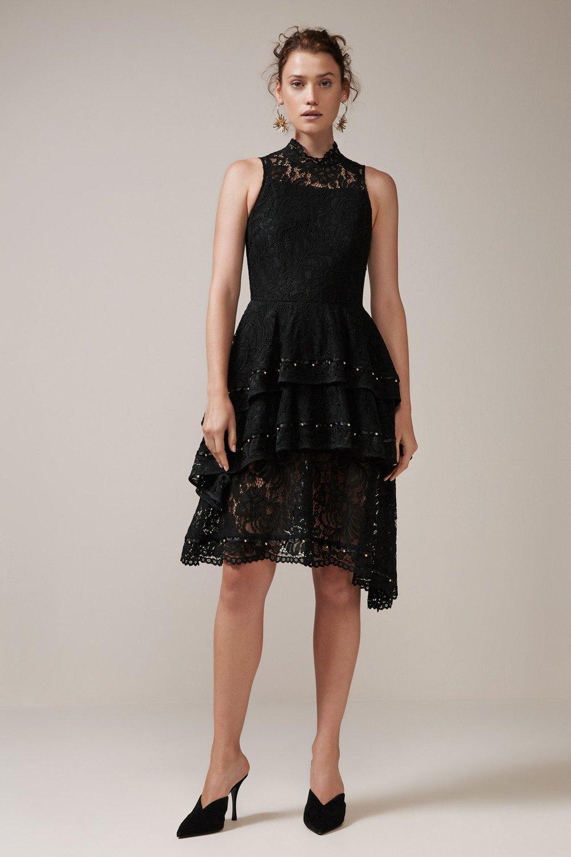 Keepsake The Label Star Crossed Lace Dress