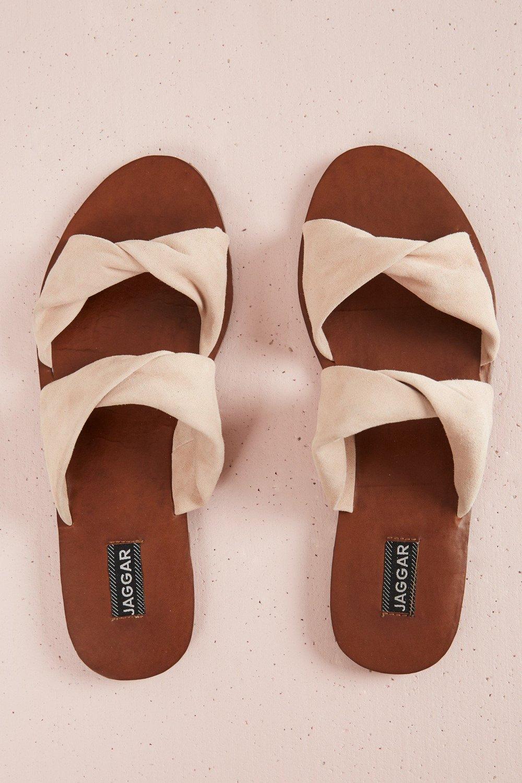 Jaggar Footwear Course Suede Flat