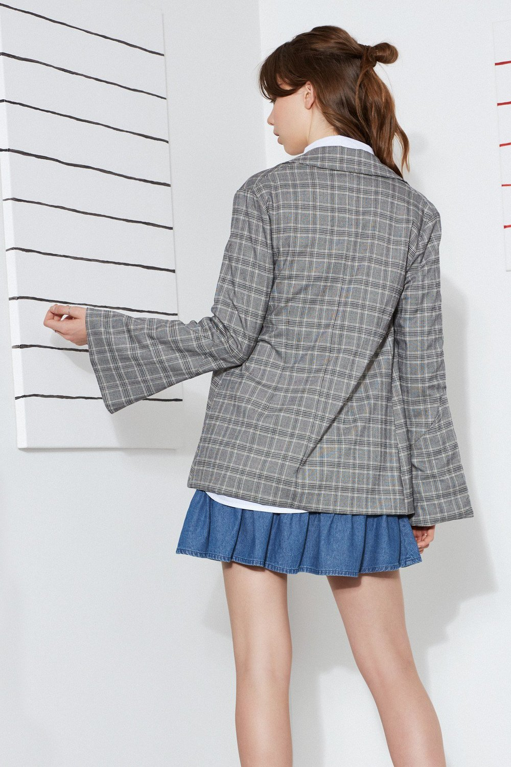 Shop The Fifth Century Check Blazer.