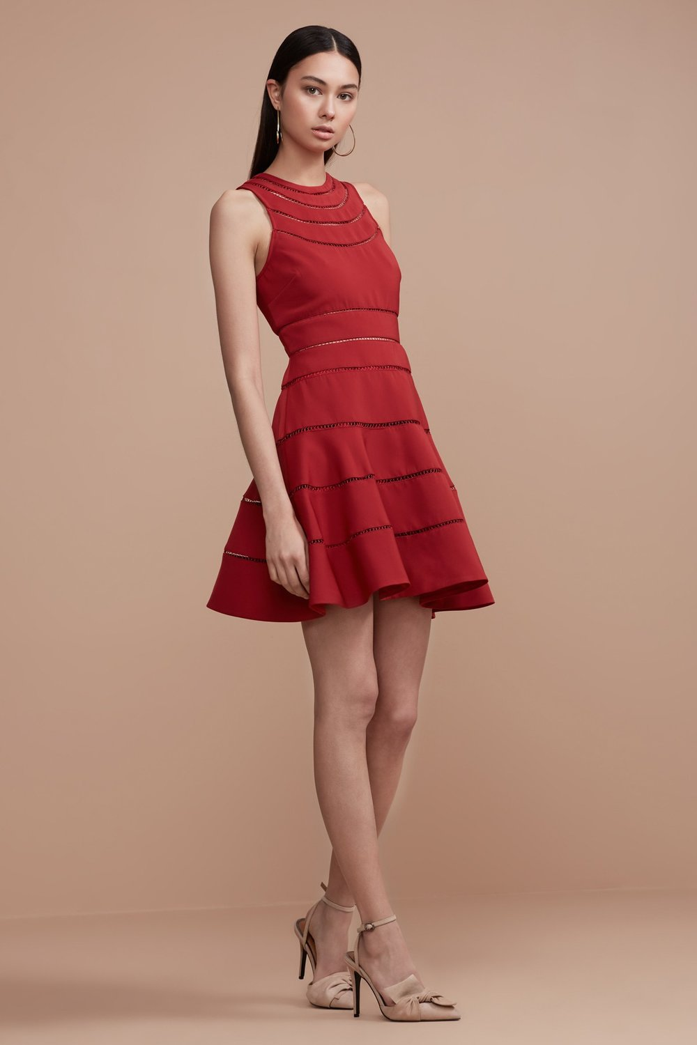 Shop Keepsake Heart Beat Short Sleeve Dress.