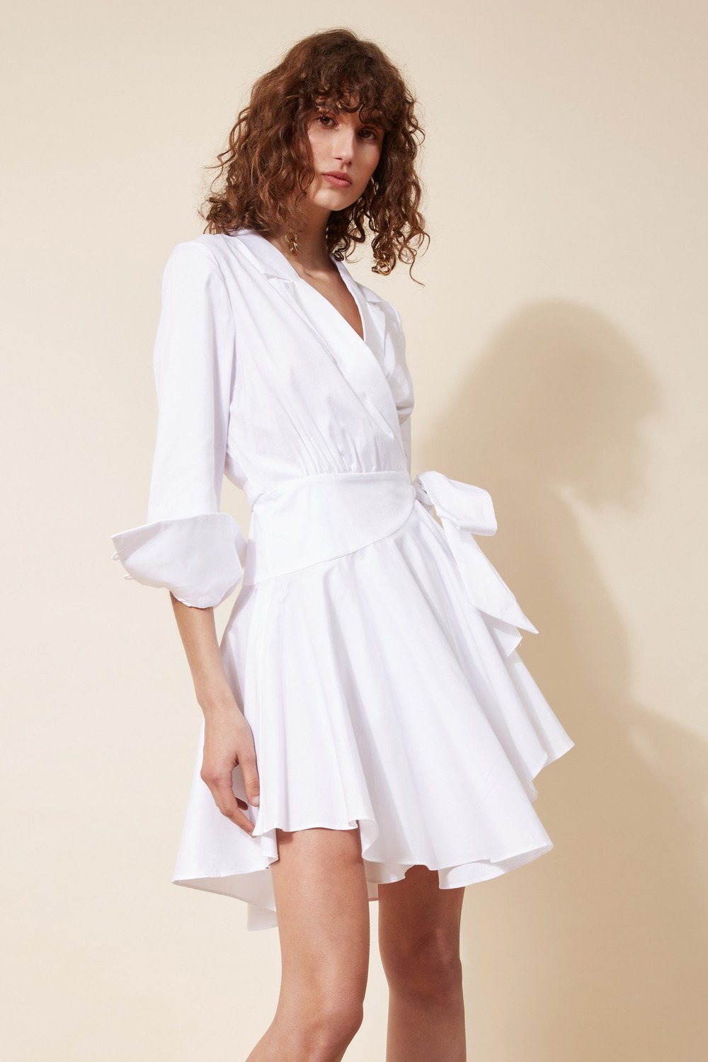 Shop C/MEO Last Light Long Sleeve Dress.