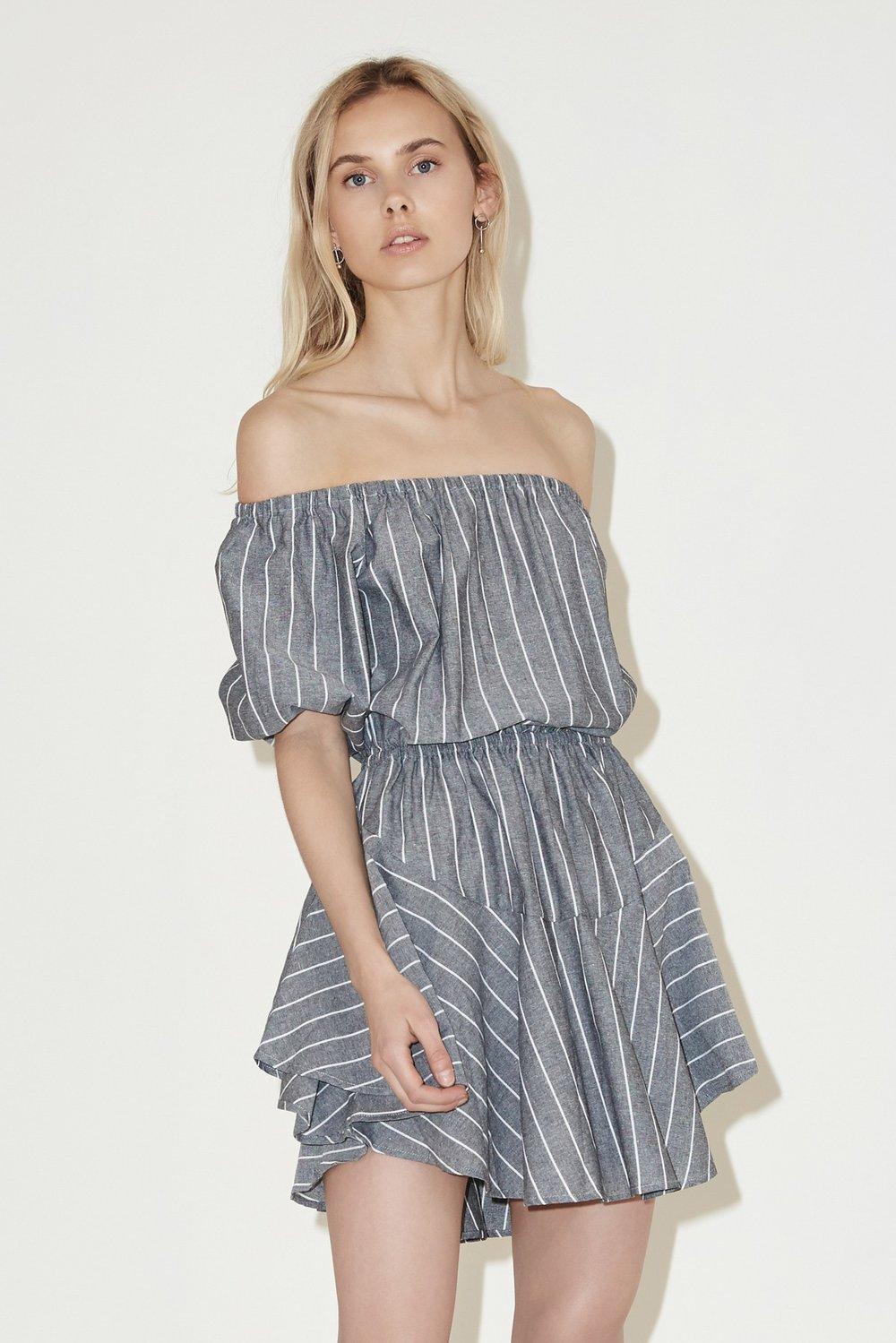 Shop The Fifth Cubic Stripe Dress.