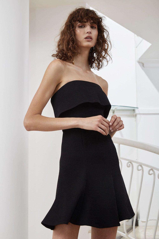 Shop C/MEO Fluidity Mini Dress.