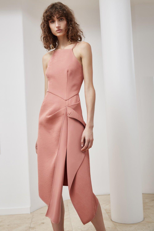Shop C/MEO Fluidity Midi Dress.