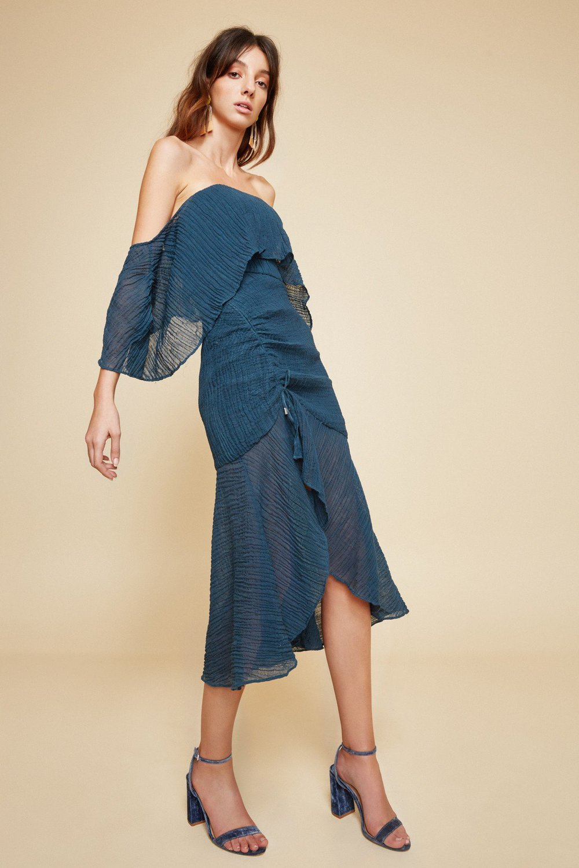 Shop C/MEO Sacrifices Midi Dress.