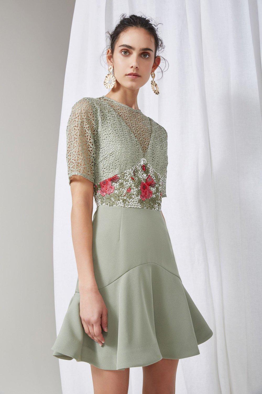 Shop Keepsake Rosebud Mini Dress.