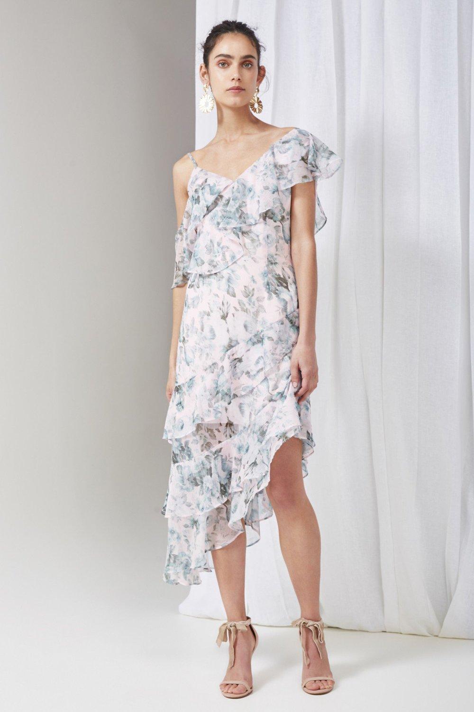 Shop Keepsake Sweet Love Midi Dress.