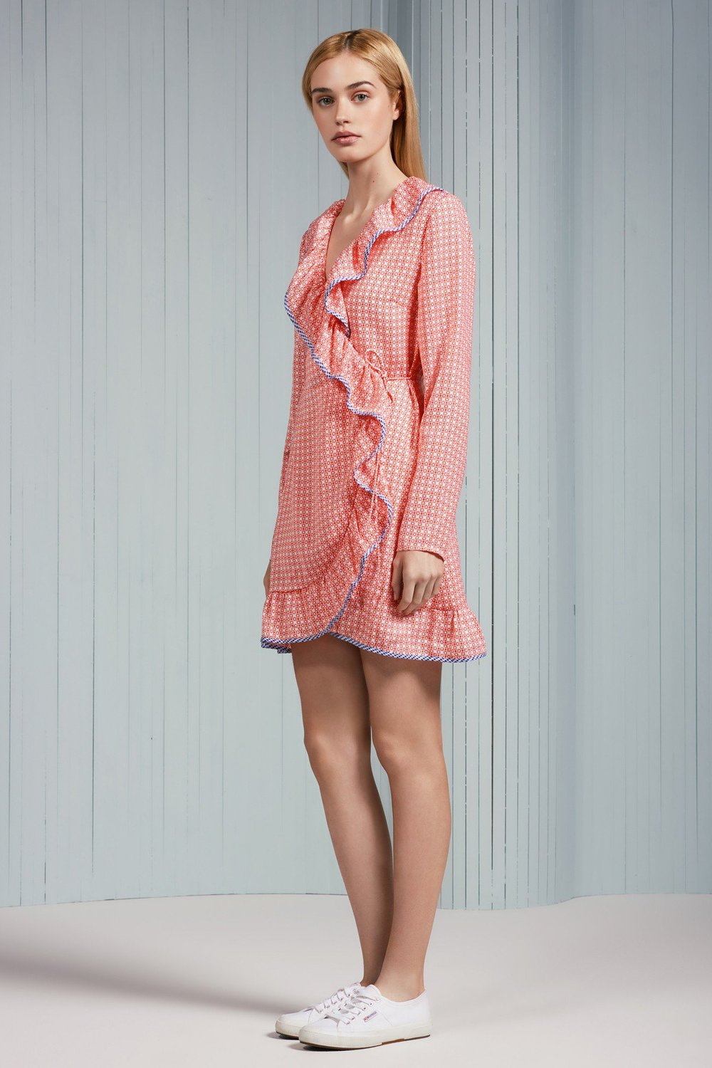 The Fifth Label Juliette L/S Wrap Dress
