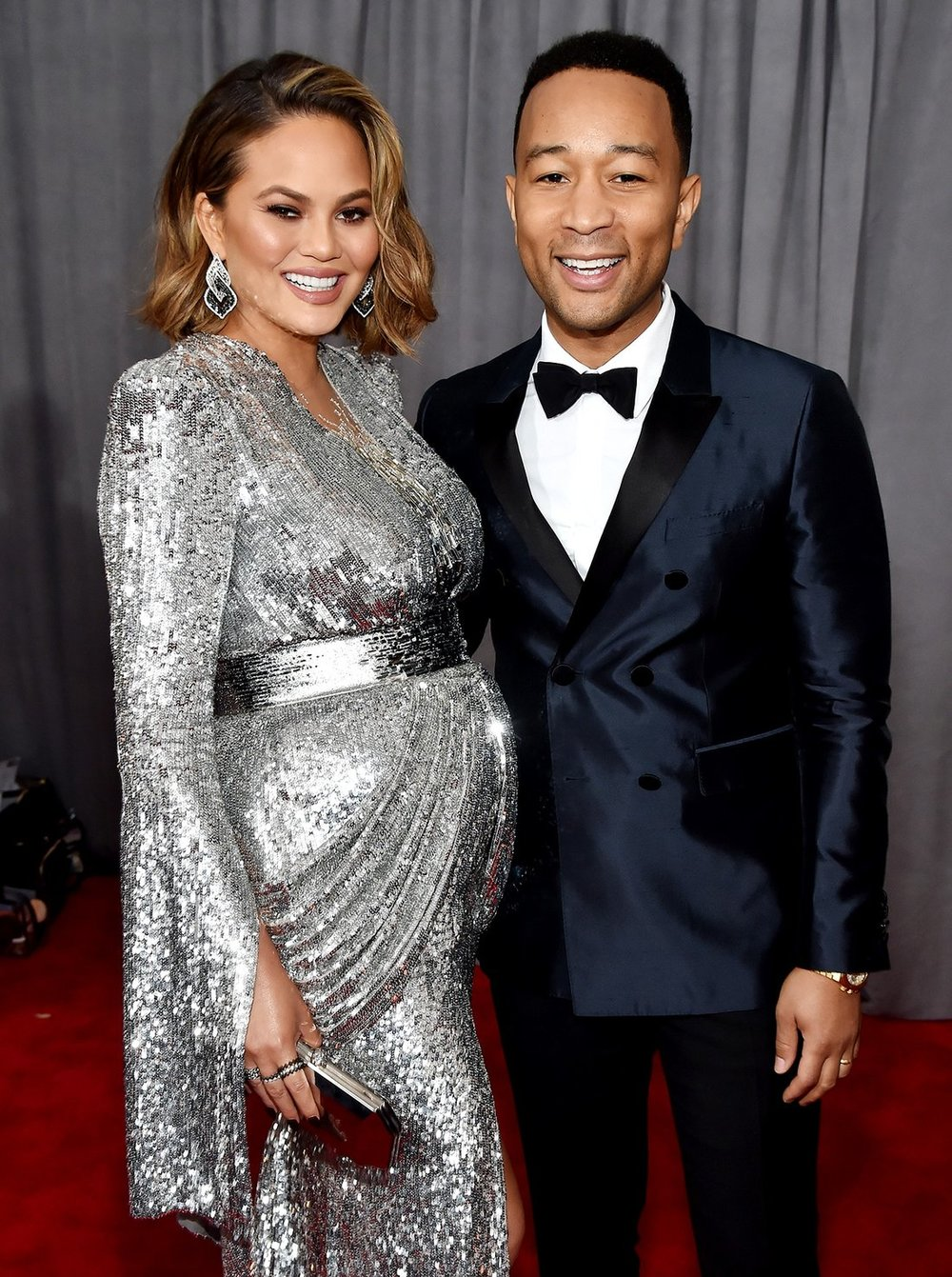 Chrissy Teigen and John Legend, via Kevin Mazur/Getty.