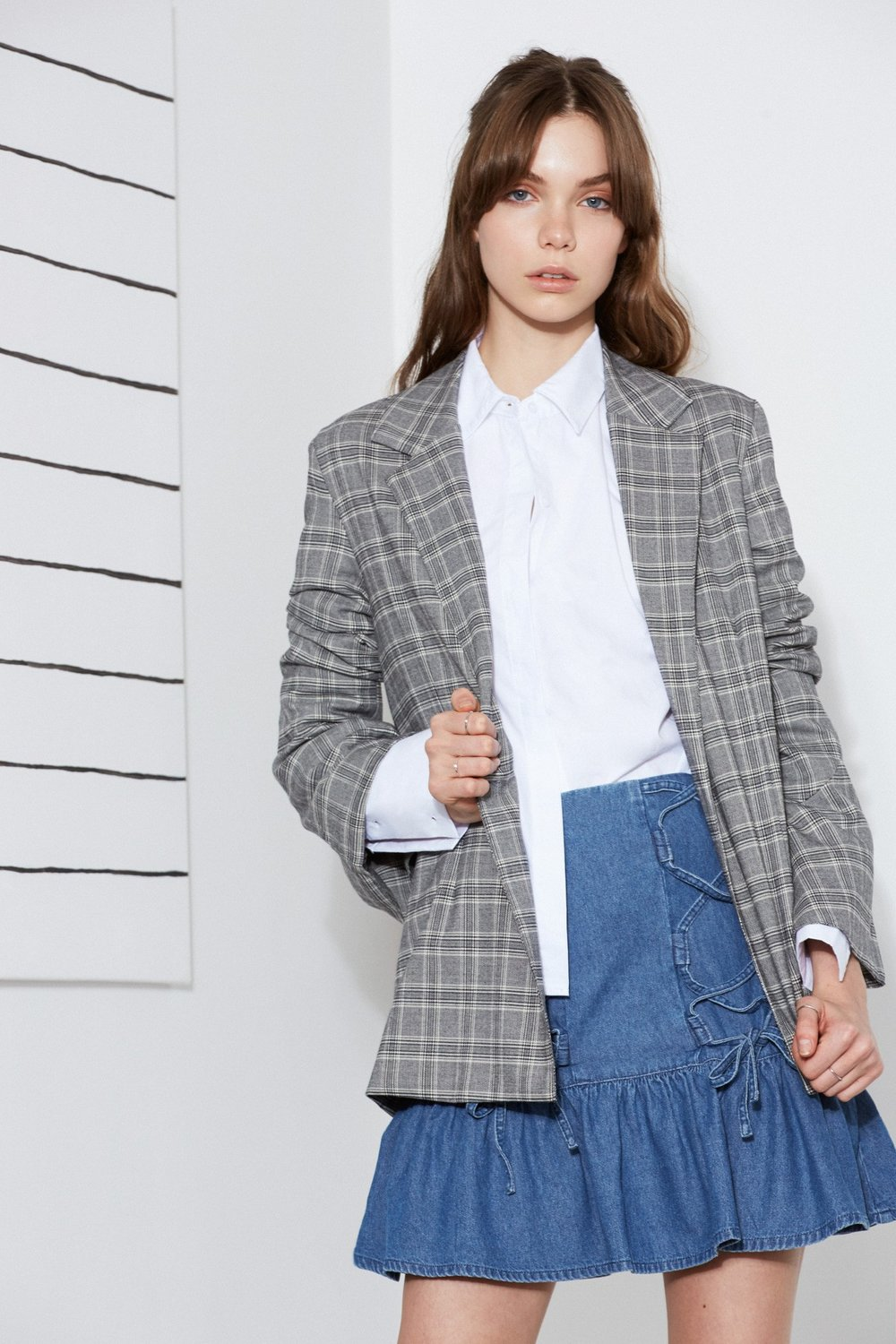The Fifth Label Century Check Blazer