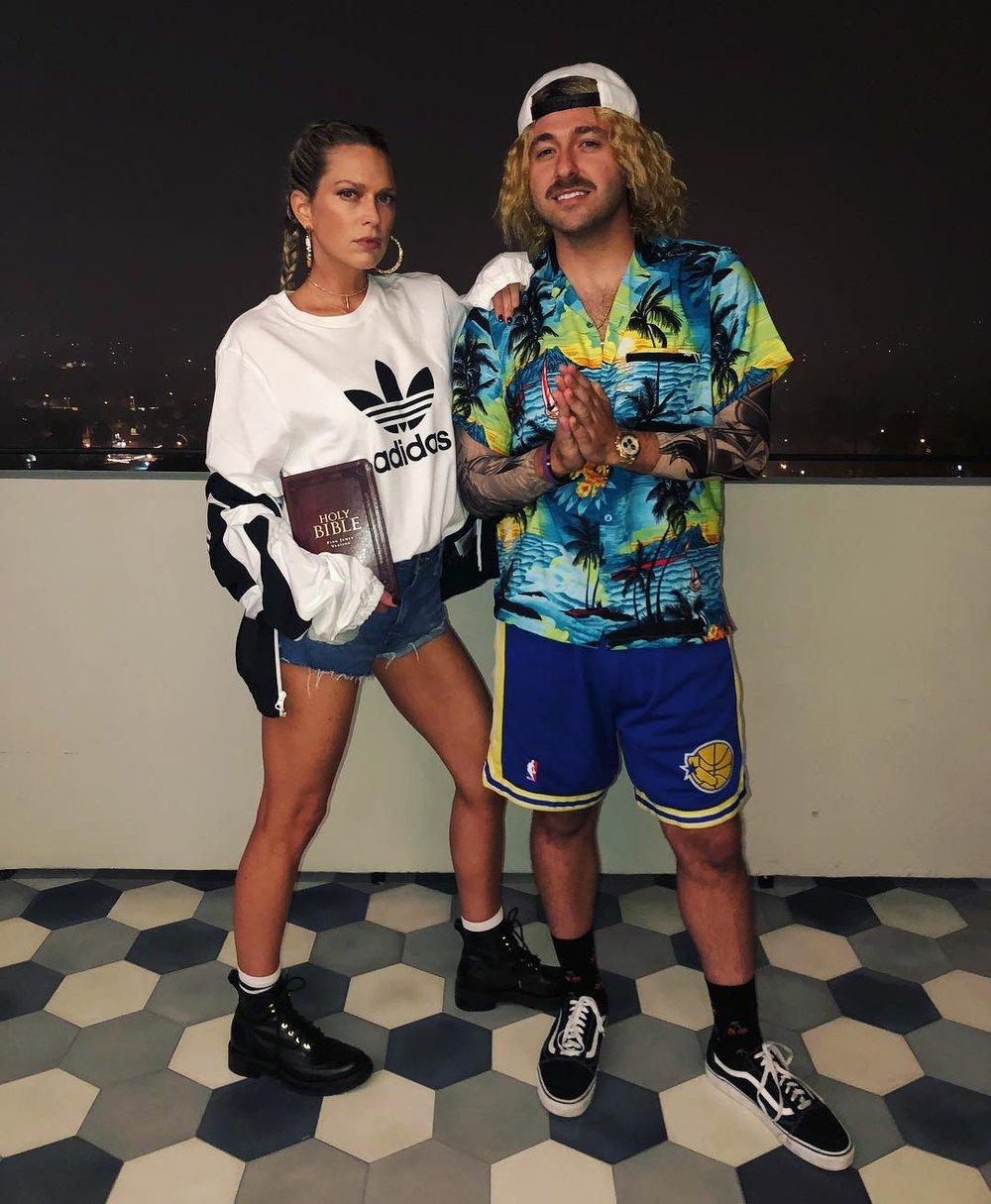 Erin Foster + Simon Tikhman as Hailey Baldwin + Justin Bieber // via instagram.com/erinfoster