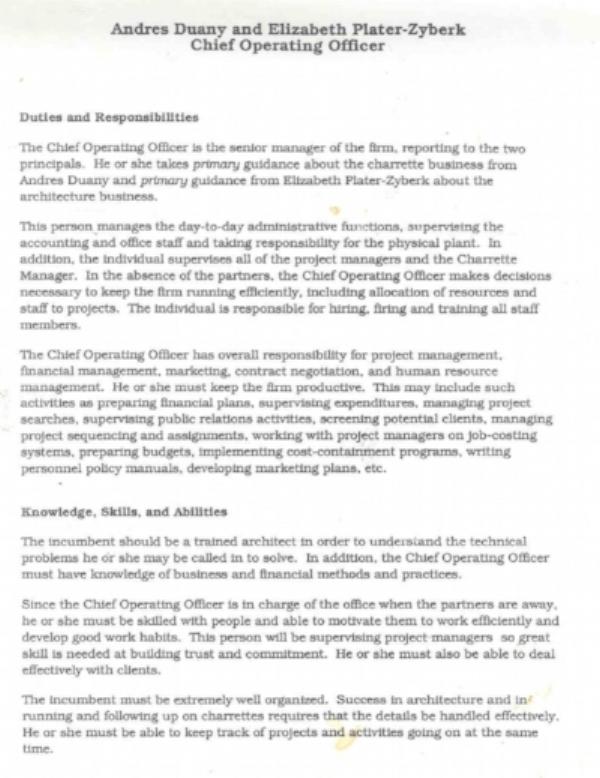 DPZ Job Description Page 1