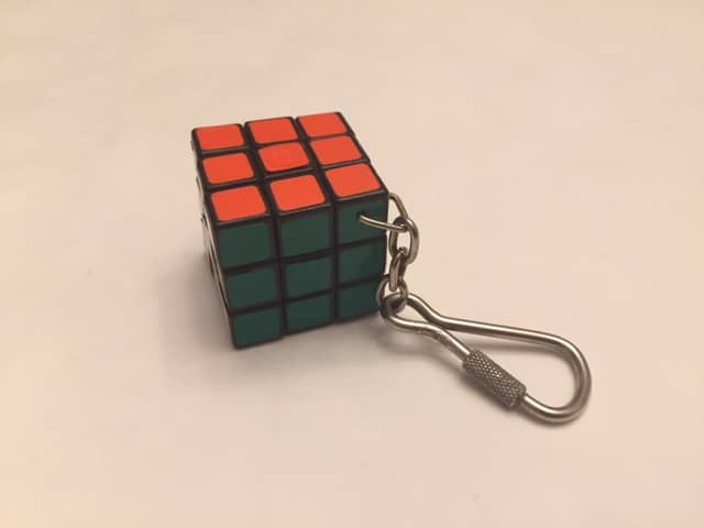 $3-Mini Keychain Vintage 3x3x3