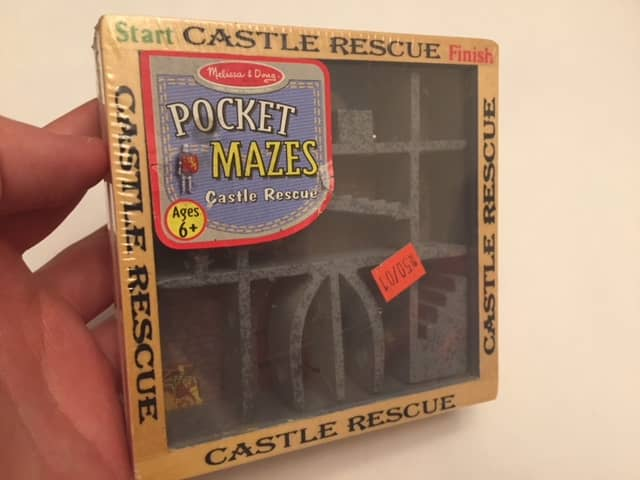 $5-Castle Rescue Dexterity Maze